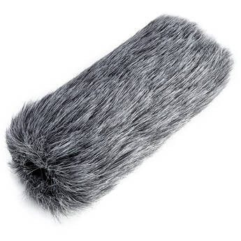 SAIREN A1 Furry Windshield (Gray)