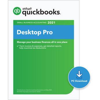 Intuit QuickBooks Desktop Pro 2021 (Boxed / 1 User / 3-Year License)