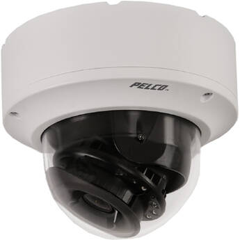 Pelco IME338-1ERS 3MP Outdoor Network Dome Camera with Night Vision, 2.8x Zoom & Heater