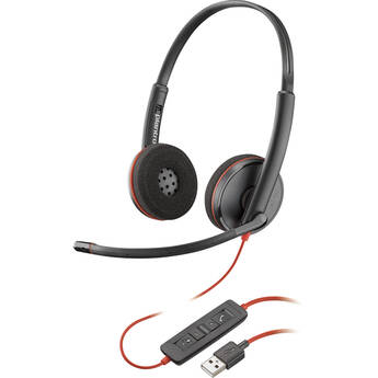 Plantronics Blackwire 3225 USB Type-A Corded Stereo UC Headset