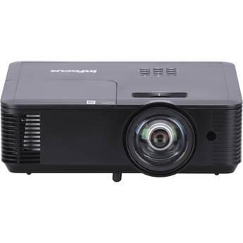 InFocus Genesis IN118BBST 3400-Lumen Full HD Short-Throw Education & Commercial DLP Projector