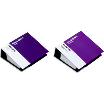 Pantone Coated and Uncoated Solid Color Chips Book