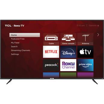 "TCL 4-Series S435 75"" Class HDR 4K UHD Smart LED TV"