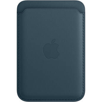 Apple iPhone 12 Series Leather Wallet with MagSafe (Baltic Blue)
