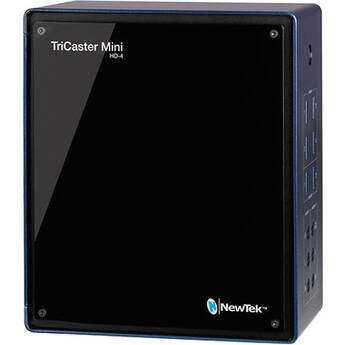 NewTek TriCaster Mini Advanced HD-4 with Mini Control Surface, Travel Case & Education Curriculum