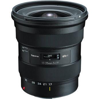Tokina atx-i 17-35mm f/4 FF Lens for Canon EF
