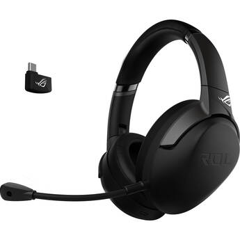 ASUS Republic of Gamers Strix Go 2.4 Wireless Gaming Headset (Black)