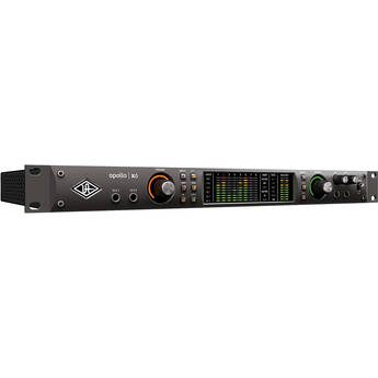 Universal Audio Apollo x6 Heritage Edition Rackmount 16x22 Thunderbolt 3 Audio Interface with Real-Time UAD Processing