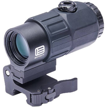 EOTech 5-Power Magnifier With Switch To Side Mount Black