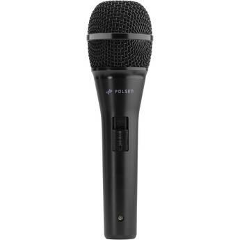 Polsen M-85-B Professional Dynamic Handheld Microphone (Black)