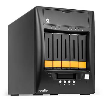 Rocstor Enteroc N57 10TB 5-Bay NAS Server (5 x 2TB)