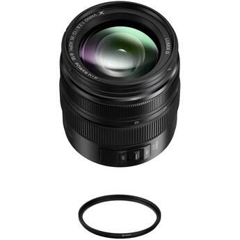 Panasonic Lumix G X Vario 12-35mm f/2.8 II ASPH. POWER O.I.S. Lens with UV Filter Kit