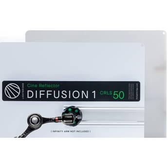 "The LightBridge Diff 1 Black Punch C-Reflector with Speedrail for C-Wheel & C-Spigot (19.7 x 19.7"")"