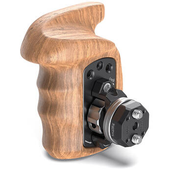 SmallRig Wooden Handgrip with Bolt-On Mount (Right Hand)