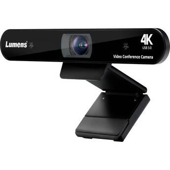 Lumens 4K Auto Framing Webcam (Black)