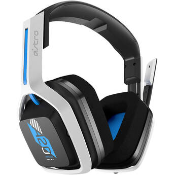ASTRO Gaming A20 Wireless Gaming Headset for PlayStation 4 & 5 (Black/White/Blue)