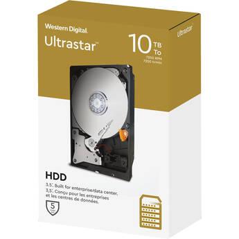 "WD 10TB Ultrastar 7200 rpm SATA 3.5"" Internal Data Center HDD (2020, Retail)"