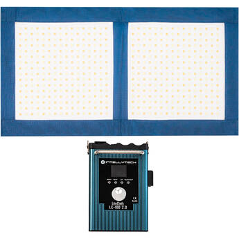 Intellytech LiteCloth 2.0 LC-100 Foldable 1 x 2 LED Mat Kit (Gold Mount)