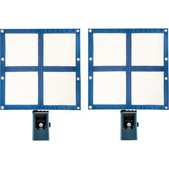 Intellytech LiteCloth 2.0 LC-160RGBWW Foldable 2 x 2 LED Two-Mat Kit (V-Mount)