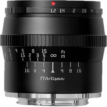 TTArtisan 50mm f/1.2 Lens for FUJIFILM X