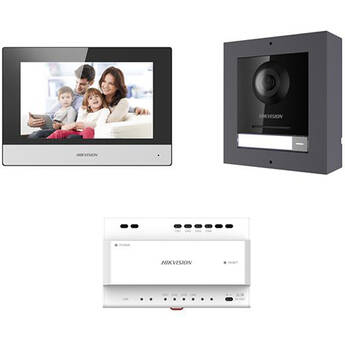 Hikvision DS-KIS702-P Two-Wire Video Intercom Kit