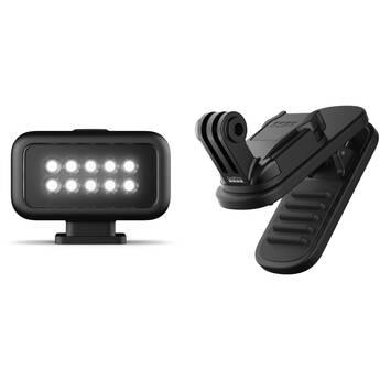 GoPro Light Mod & Magnetic Swivel Clip Kit for HERO8 Black Media Mod