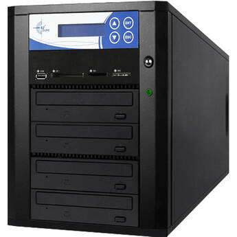 EZ Dupe Backup Memory Cards/USB/DVD/CD to 3 DVD/CD Discs
