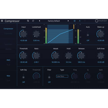 tracktion Compressor Plug-In from DAW Essentials Collection (Download)