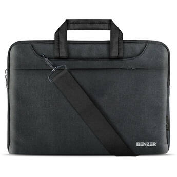 "iBenzer Laptop Sleeve Carrying Case for 15 to 15.6"" Devices (Black)"
