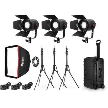 Fiilex P360S Portable LED Light Kit (3-Pack)