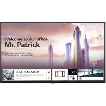 "LG UH5F-H 65"" Class 4K UHD Digital Signage & Conference Room Smart IPS LED Display"