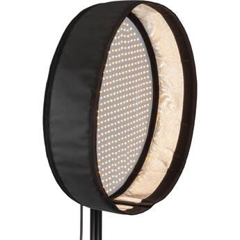 "Genaray PortaSun Round Flexible Bi-Color LED Light with Softbox and Grid V2 (20"")"