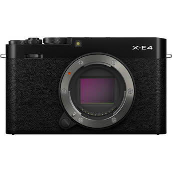 FUJIFILM X-E4 Mirrorless Digital Camera (Body Only, Black)