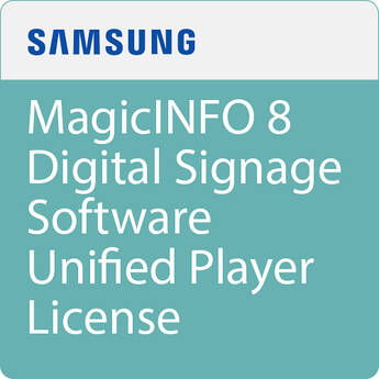 Samsung MagicINFO 8 Digital Signage Software Unified Player License