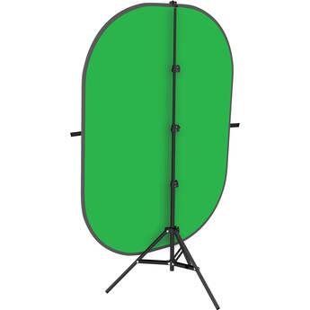 Impact 5x7' Collapsible Background Kit (Chroma Green)