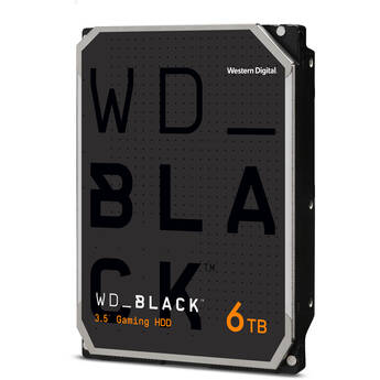 """WD 6TB Black 7200 rpm SATA III 3.5"""" Internal HDD (Retail)"""