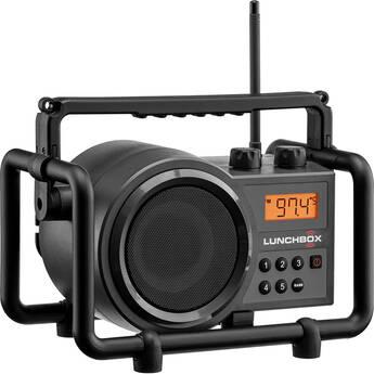 Sangean SG-102 Lunchbox Compact AM/FM Rugged Portable Radio (Iron Gray)