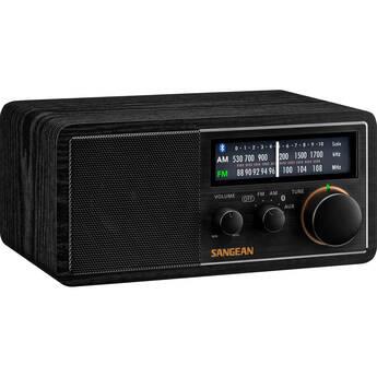 Sangean SG-118 AM/FM Wireless Tabletop Radio (Black)