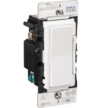 Leviton DD00R-DLZ Decora Digital/Smart Dual Voltage Matching Switch Remote