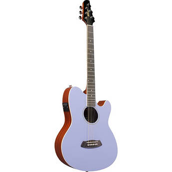 Ibanez TCY10E Talman Series Acoustic/Electric Guitar (Lavender)