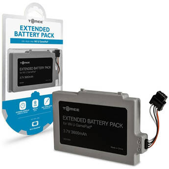 HYPERKIN Tomee 3600mAh Extended Battery Pack for Wii U GamePad