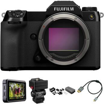 FUJIFILM GFX-100S Mirrorless Digital Camera Raw Recording Kit