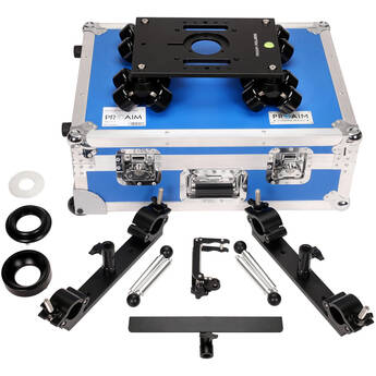 Proaim Polaris Portable Camera Dolly with Universal Track Ends