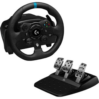 Logitech G G923 TRUEFORCE Sim Racing Wheel and Pedals for PC, Xbox X S & Xbox One