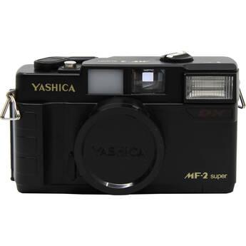 Yashica MF-2 Super DX 35mm Camera (Black)