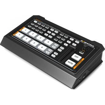 AVMATRIX HVS0402U 4-Channel Live Streaming Video Switcher