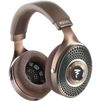 Focal Clear MG Open-Back Headphones (Chestnut and Mixed Metal Finish)