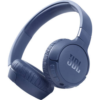 JBL Tune 660NC Noise-Canceling Wireless On-Ear Headphones (Blue)