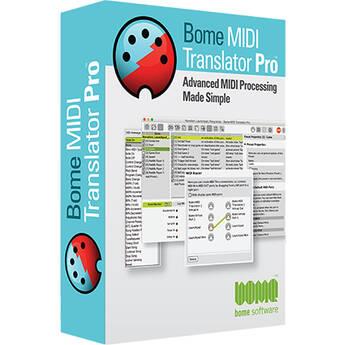 Bome MIDI Translator Pro (Download)