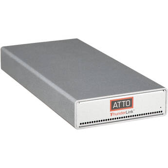 ATTO Technology Dual Thunderbolt 3 to 10Gb Ethernet Adapter